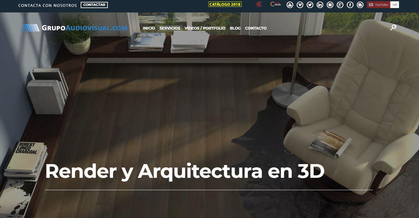 Pagina-Arquitectura-3d-render-grupoaudiovisual