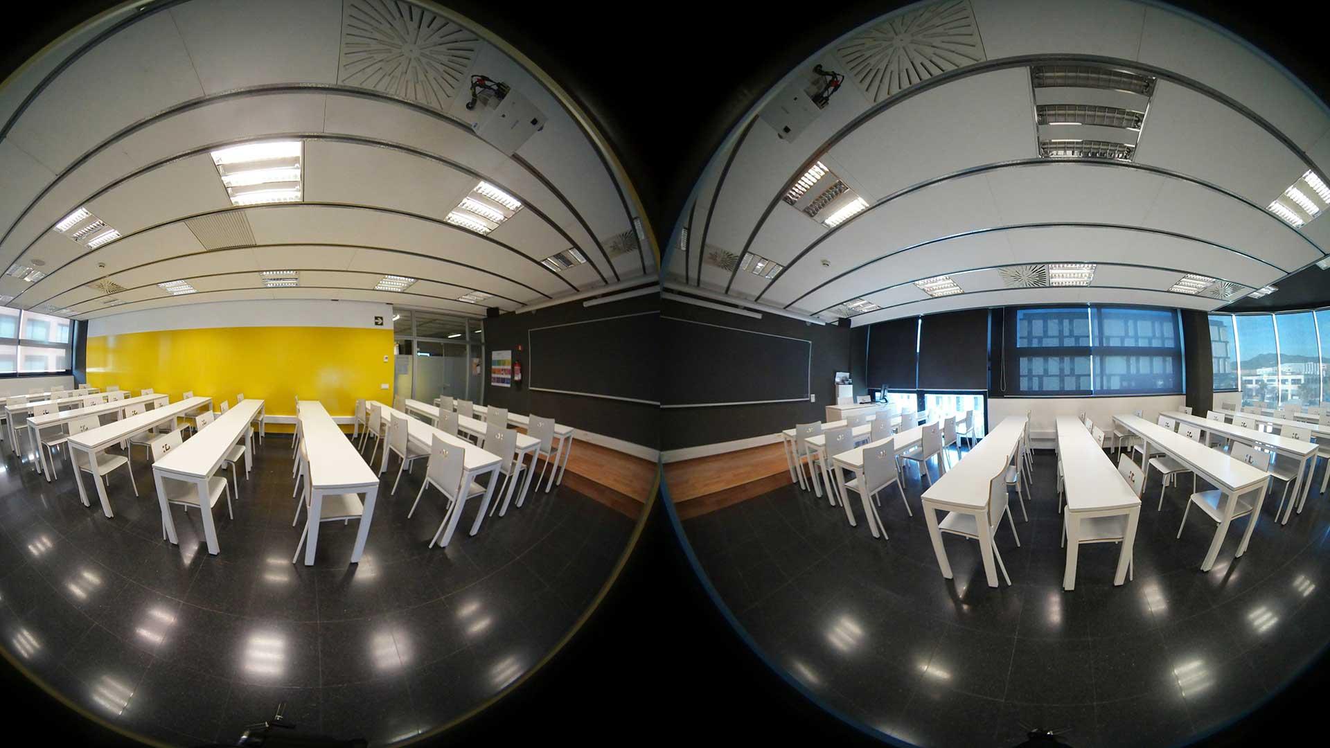 Demostración de proyecto en Realidad Virtual 360 para evento