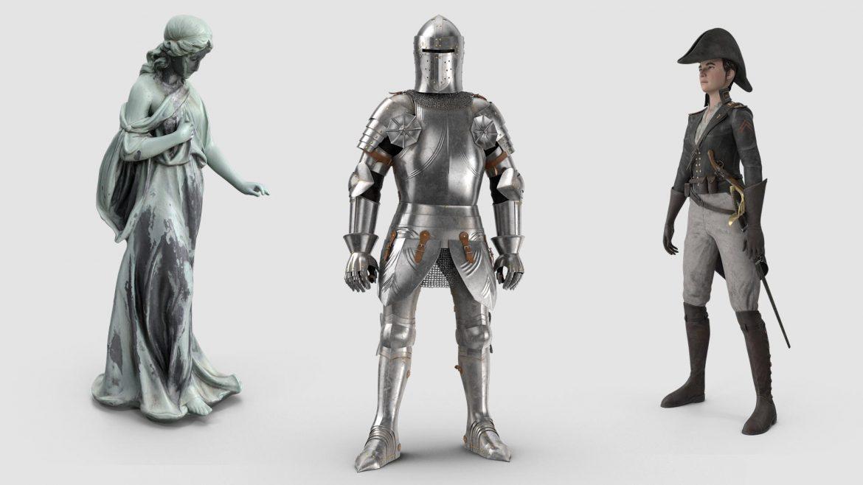personajes-historicos-en-3D-grupoaudiovisual