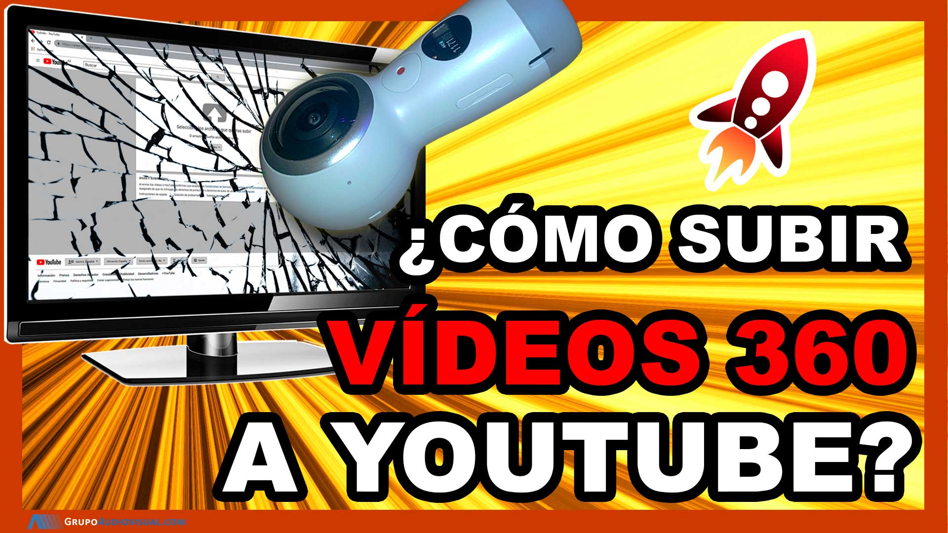 Cómo subir un vídeo 360 a Youtube 2020