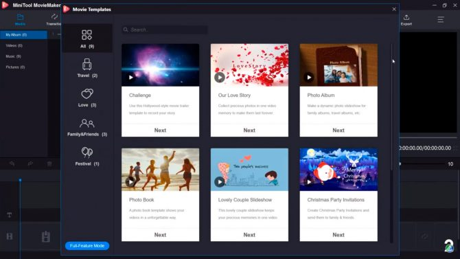 Editor-de-video-gratis-minitool-movie-maker