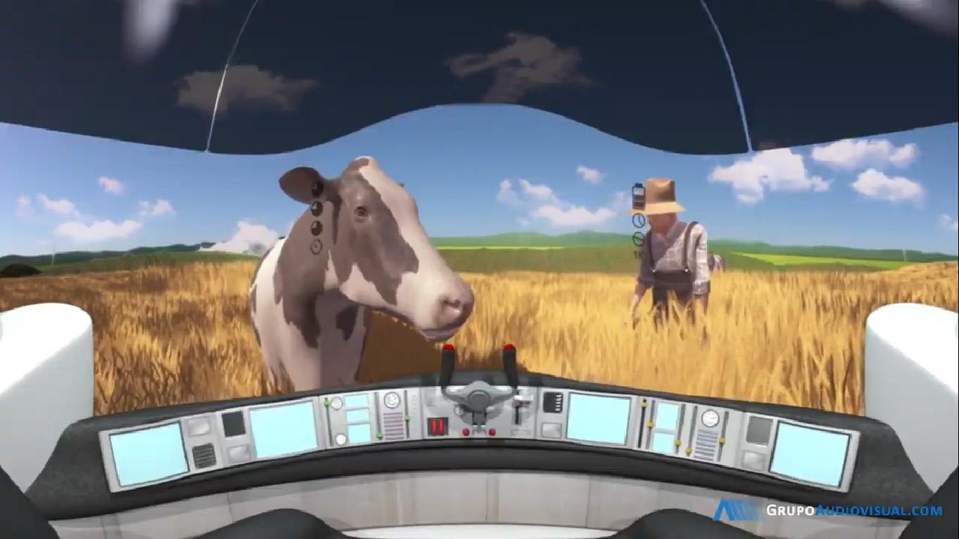 Experiencia de Realidad Virtual Conducida - GrupoAudiovisual y VRauto