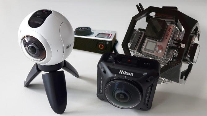 Fotografía y vídeo 360 grados Realidad Virtual GrupoAudiovisual