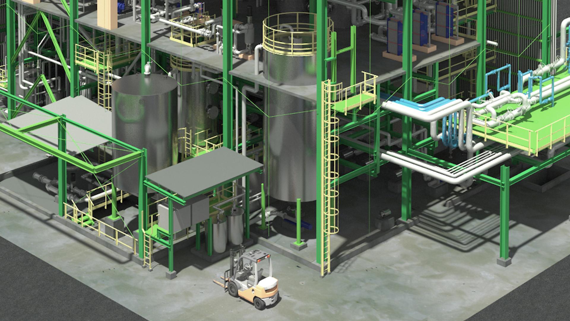 Render y Arquitectura 3D Industrial - GrupoAudiovisual 03
