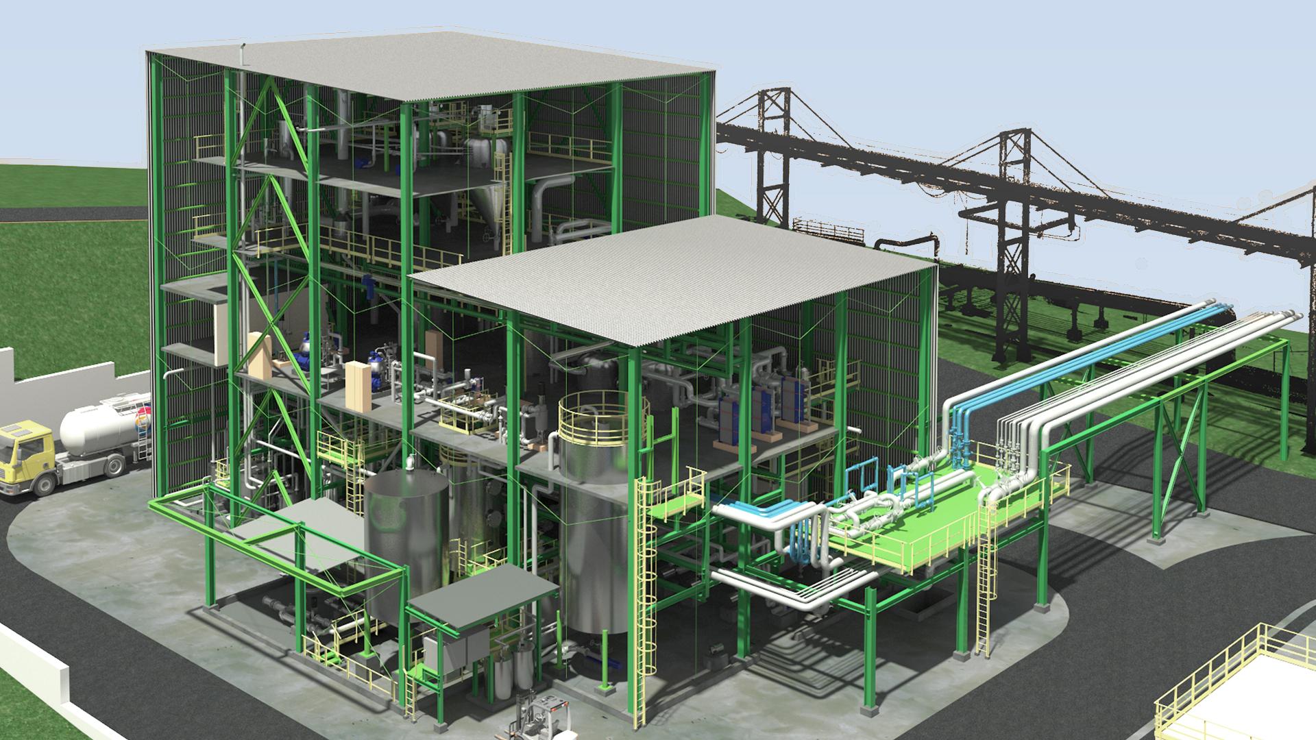 Render y Arquitectura 3D Industrial - GrupoAudiovisual 04