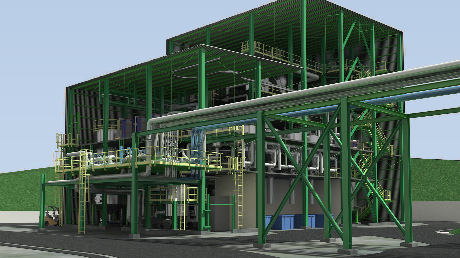 Render y Arquitectura 3D Industrial - GrupoAudiovisual 05