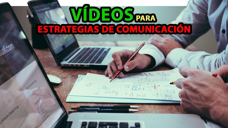 Vídeos para estrategias de comunicación audiovisual grupoaudiovisual portada post blog vlog