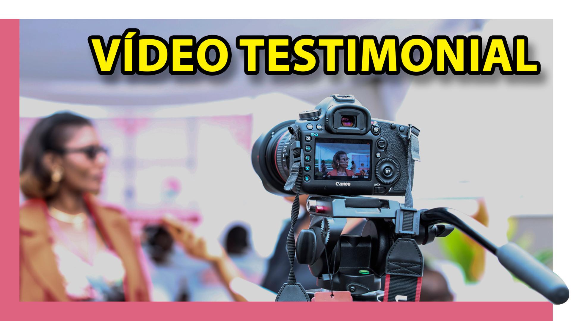 Vídeo testimonial