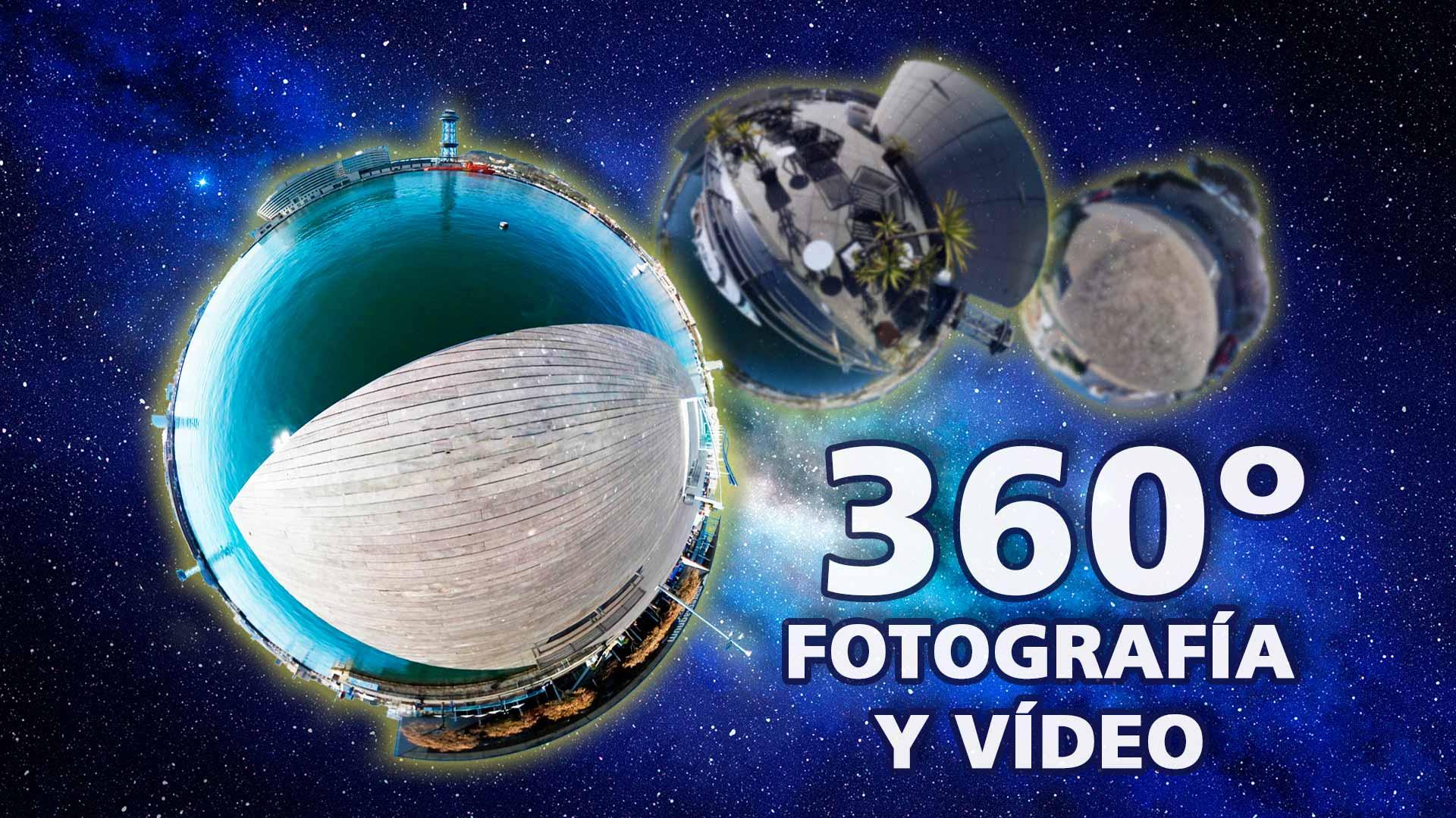 Qué son las fotos y vídeos 360 grados