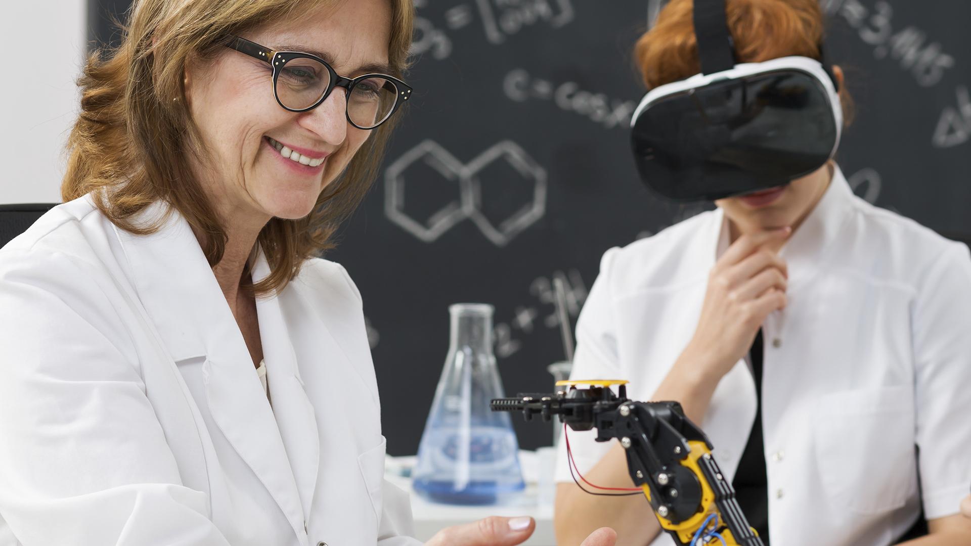 Formación VR científica y tecnológica - GrupoAudiovisual