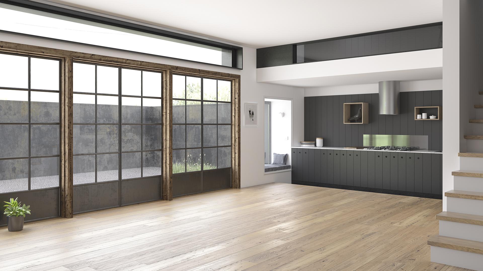 simulacion 3d casa vivienda decoración render