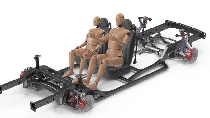 simulacion 3d crash test dummy dumie coche de pruebas car grupoaudiovisual
