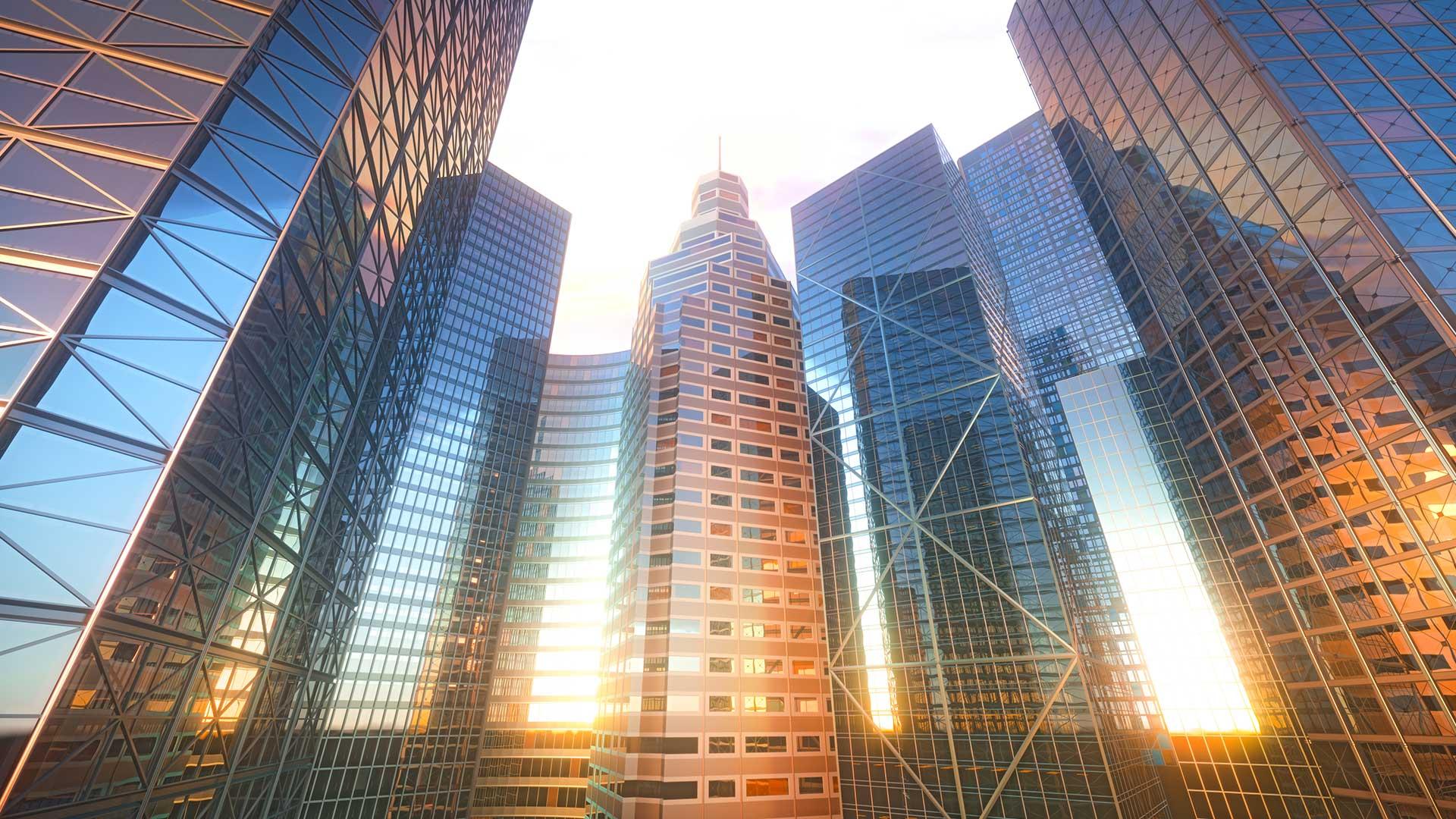 Integracion-3D-de-edificios-con-reflejos-del-sol-GrupoAudiovisual