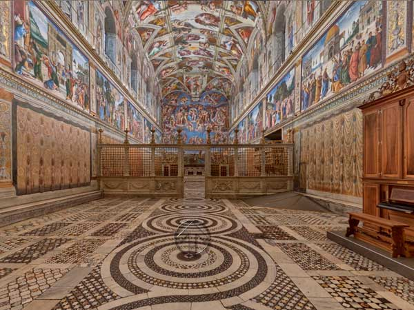 Tour-Virtual-Capilla-Sistina Tours virtuales gratis
