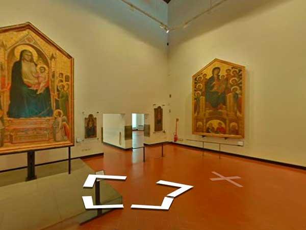 Tour-Virtual-Galería-UFFIZI