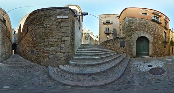 Girona-07 Casco antiguo de Girona 360