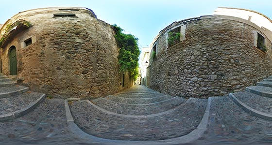 Girona-08 Casco antiguo de Girona 360