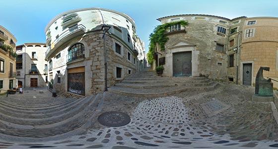 Girona-09 Casco antiguo de Girona 360