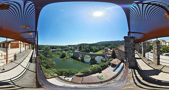 Girona-Besalu comprar fotos 360