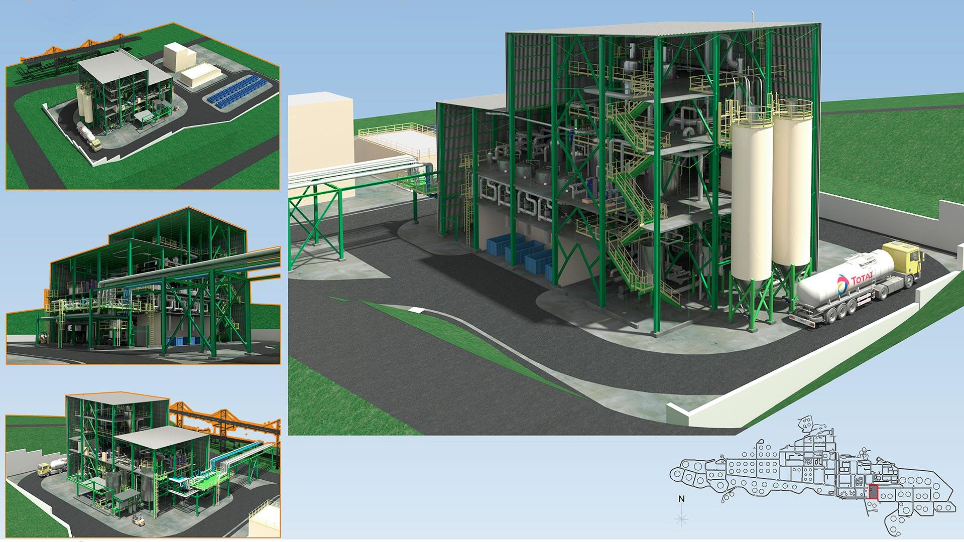 ARQUITECTURA INDUSTRIAL 3D | Render para empresas