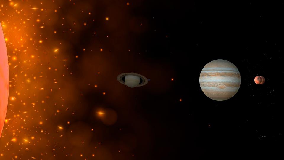 ▷ EL SISTEMA SOLAR en 360 VR - Animaciones 3D 360º GRATIS