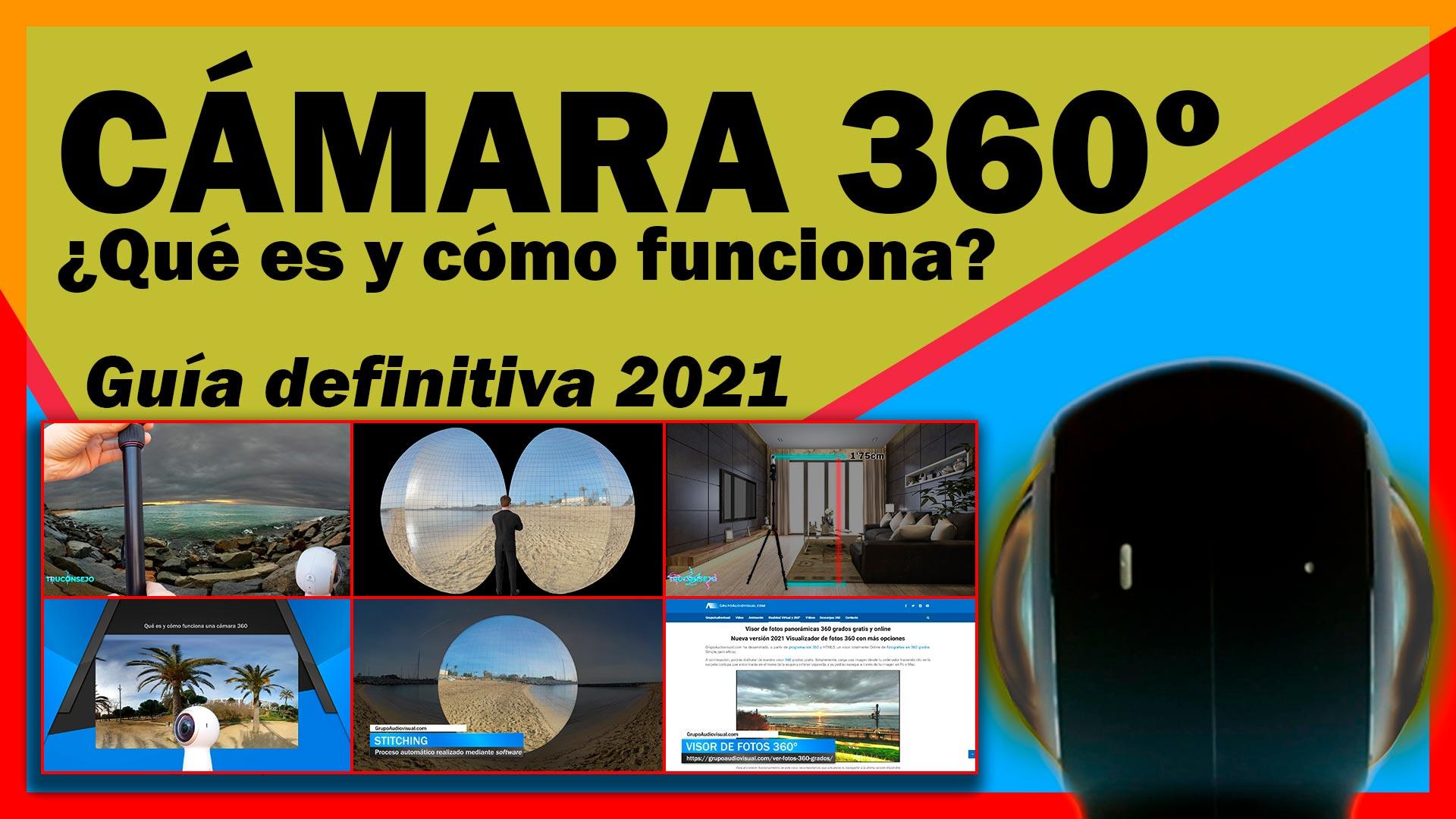 CÁMARA 360 ¿Qué es y cómo funciona una CÁMARA 360 grados?