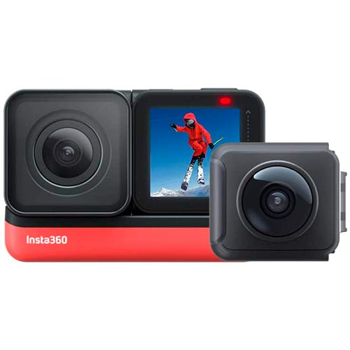Cámara INSTA360 ONE R TWIN - Comprar cámaras 360º 5'7K ahora